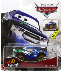 Disney Cars Die-Cast 1:55 - XRS Mud Racing - Clutch Aid - Funky Toys