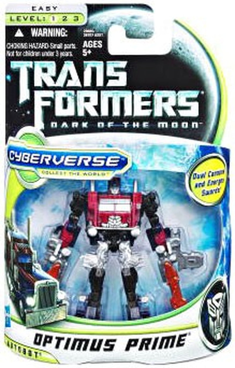 Transformers Dark of the Moon Cyberverse - Battle Steel Optimus Prime - Funky Toys