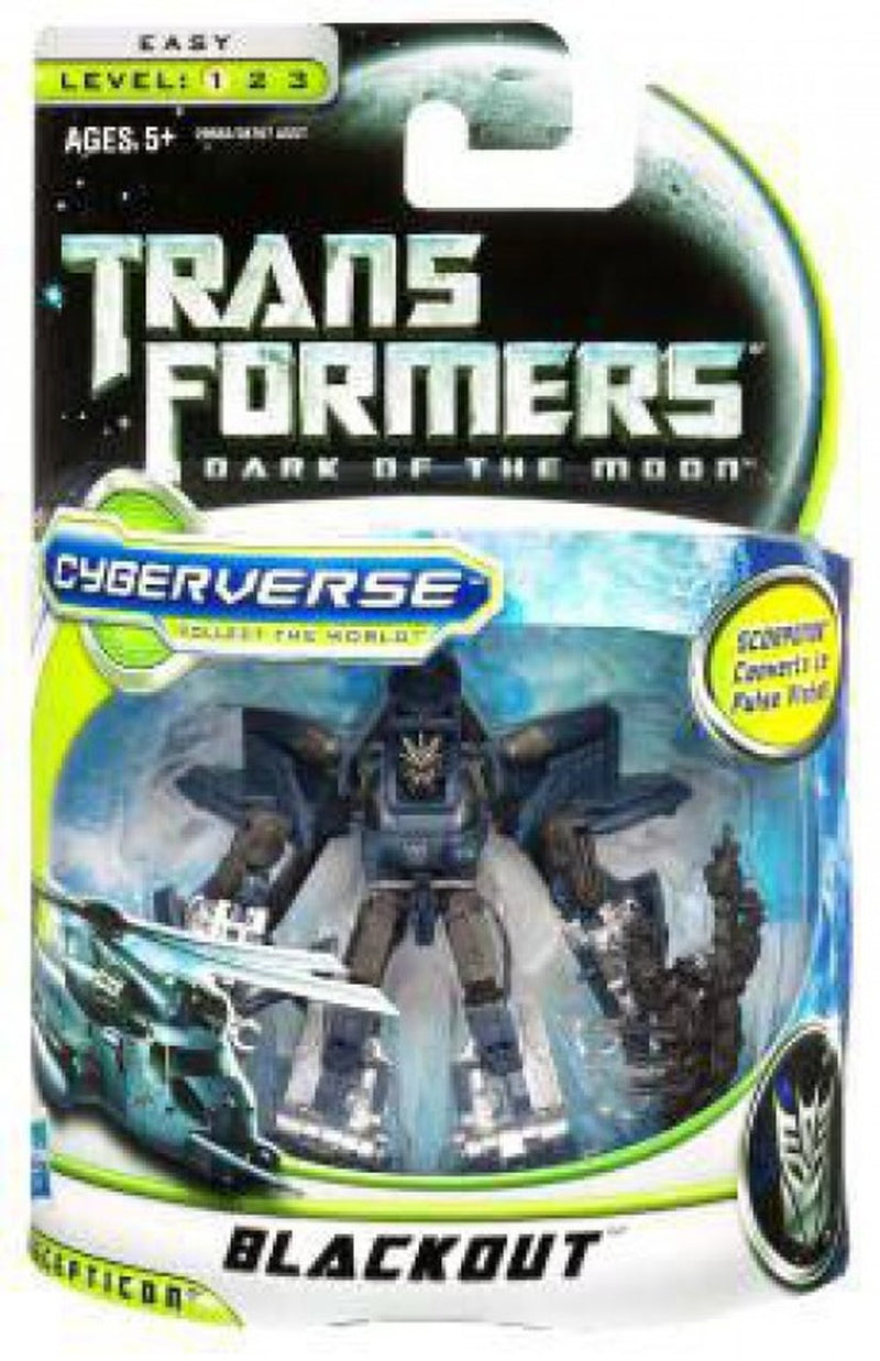 Transformers Dark of the Moon Cyberverse - Blackout - Funky Toys