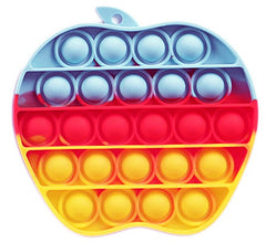 Pop Bubble Fidget - Apple Rainbow - Funky Toys