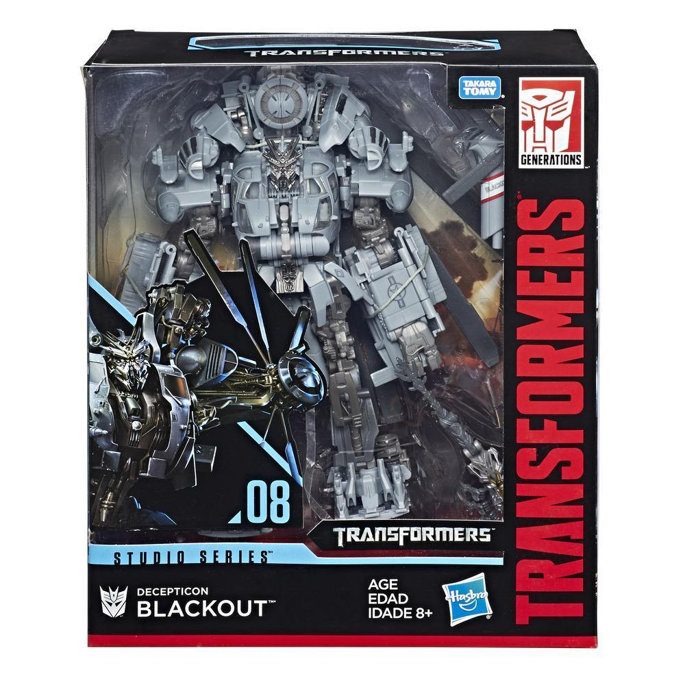 Transformers Generations Studio Series Leader Class - Decepticon Blackout - funky-toys-company