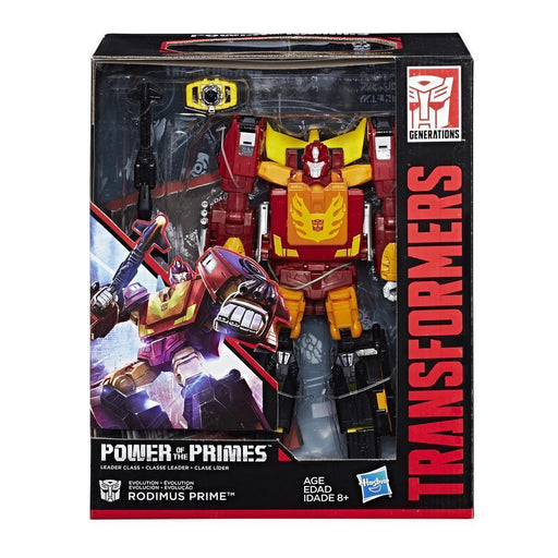 Transformers Generations Power of the Primes Leader Class - Rodimus Prime - funky-toys-company