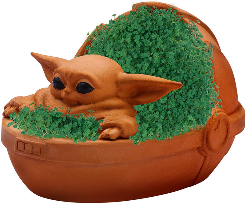 Chia Pet - The Mandalorian The Child Baby Yoda - Funky Toys