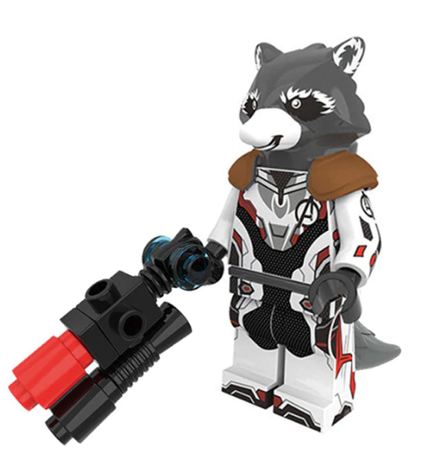 Minifigure - Marvel Endgame -  Rocket Raccoon - funky-toys-company