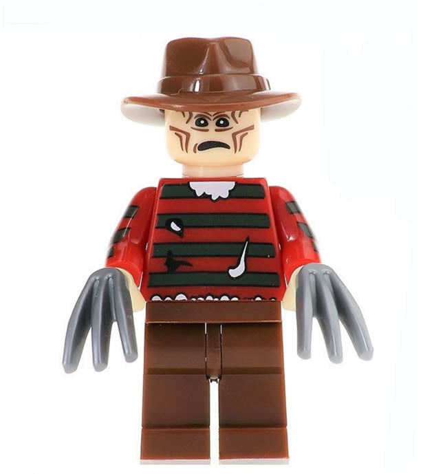 Minifigure - Nightmare on Elm St. - Freddy Krueger - funky-toys-company