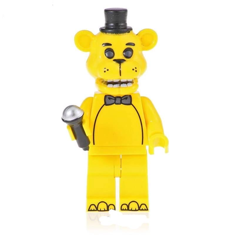 Minifigure -  Five Nights at Freddy's - Golden Freddy