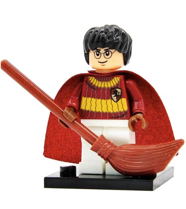 Minifigure - Harry Potter - Harry Potter Quidditch - funky-toys-company