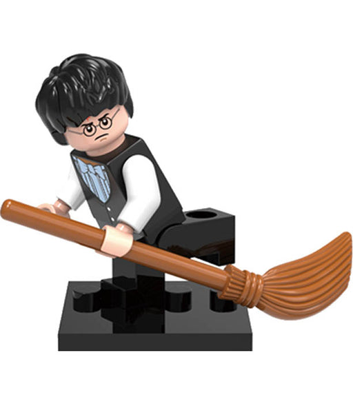 Minifigure - Harry Potter - Harry Potter with Bow Tie - funky-toys-company