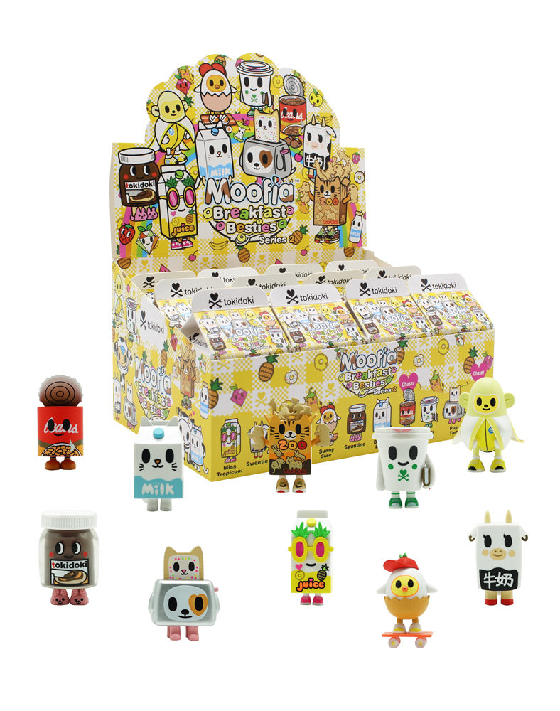 Tokidoki Breakfast Besties Series 2 (Blind Box) - Funky Toys