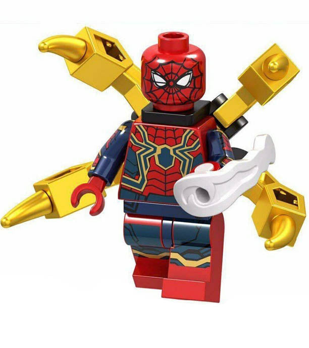Minifigure - Marvel Avengers - Iron Spider-Man - funky-toys-company