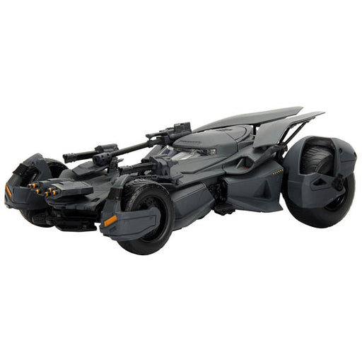1:24 Die-Cast Hollywood Rides - DC Comics Justice League Batmobile