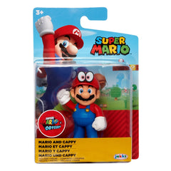 Nintendo Super Mario 2.5 inch Action Figure - Mario and Cappy - Funky Toys