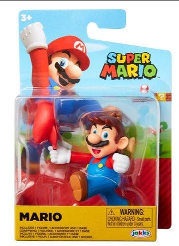 Nintendo Super Mario 2.5 inch Action Figure - Mario walking - Funky Toys