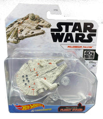 Hot Wheels Die-Cast Star Wars Starships - Millennium Falcon - Funky Toys