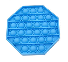 Pop Bubble Fidget - Octagon Blue - Funky Toys