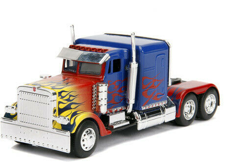 Jada 1:32 Die-Cast Hollywood Rides - Transformers T1 Optimus Prime - funky-toys-company