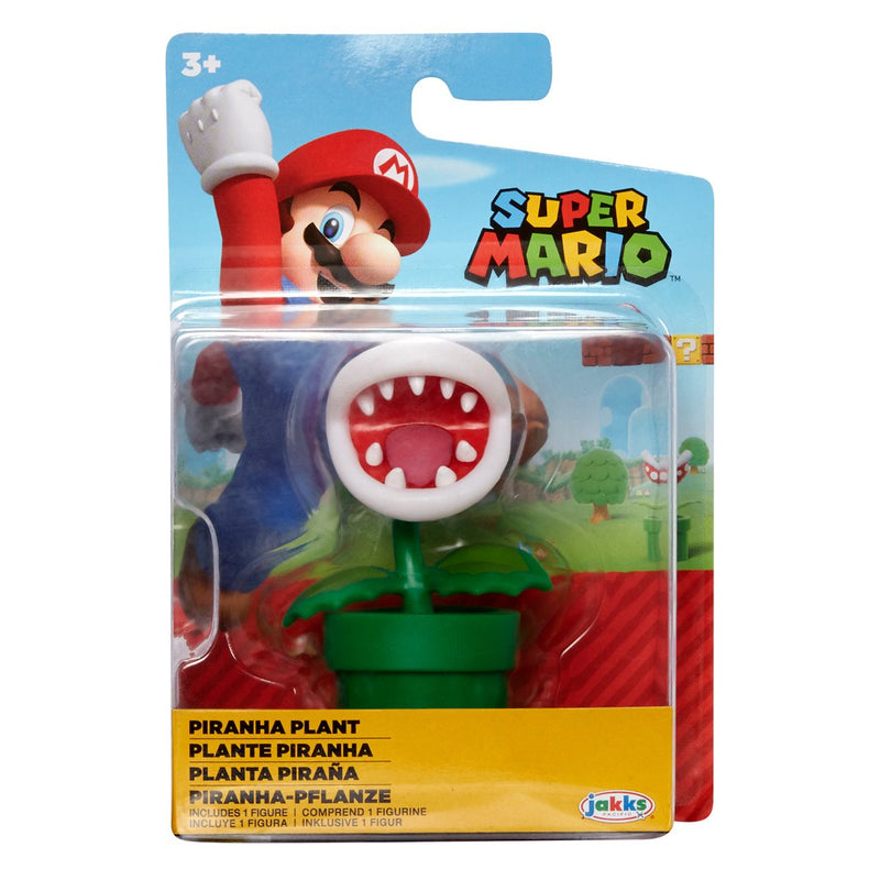 Nintendo Super Mario 2.5 inch Action Figure - Pirahna Plant - Funky Toys