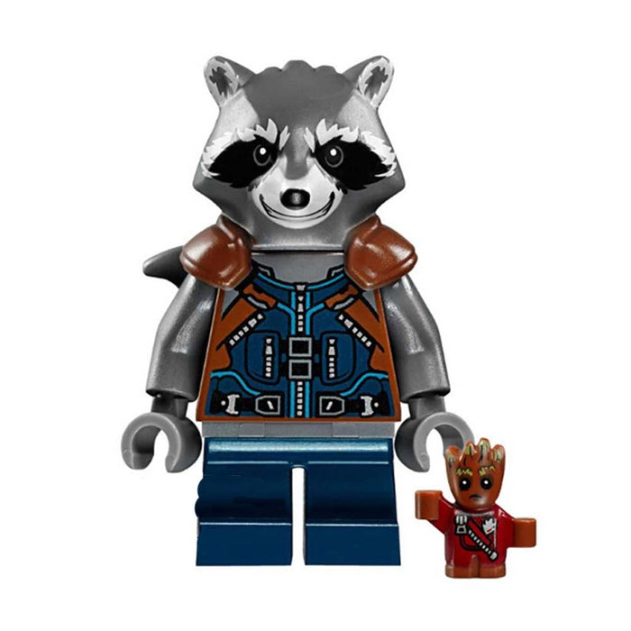 Minifigure - Marvel - Rocket Raccoon & Mini Groot