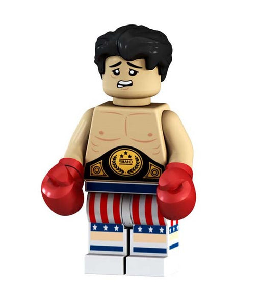 Minifigure -  Rocky with Belt