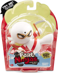 Fart Ninja - Sensei Smell (White/Red) - Funky Toys