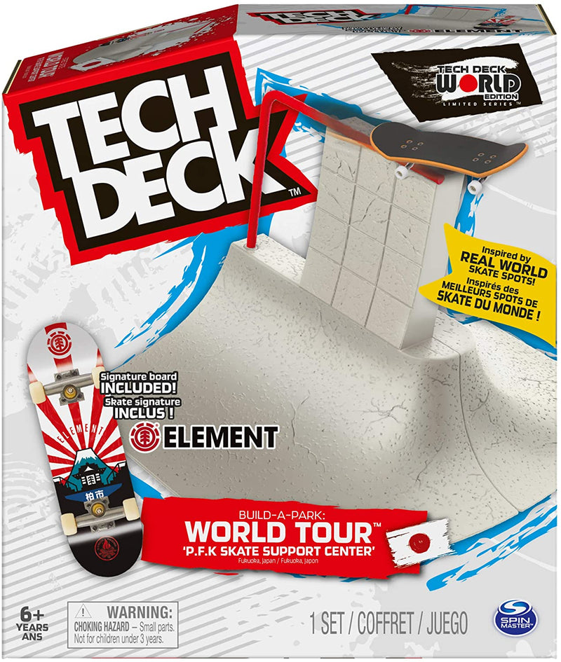 Tech Deck Build-A-Park - P.F.K Skate Support Center Element - Funky Toys