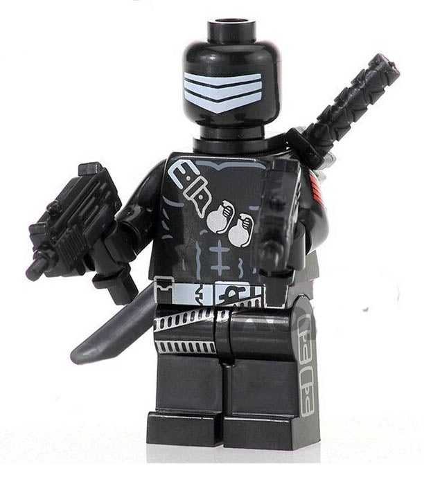 Minifigure - GI Joe - Snake Eyes
