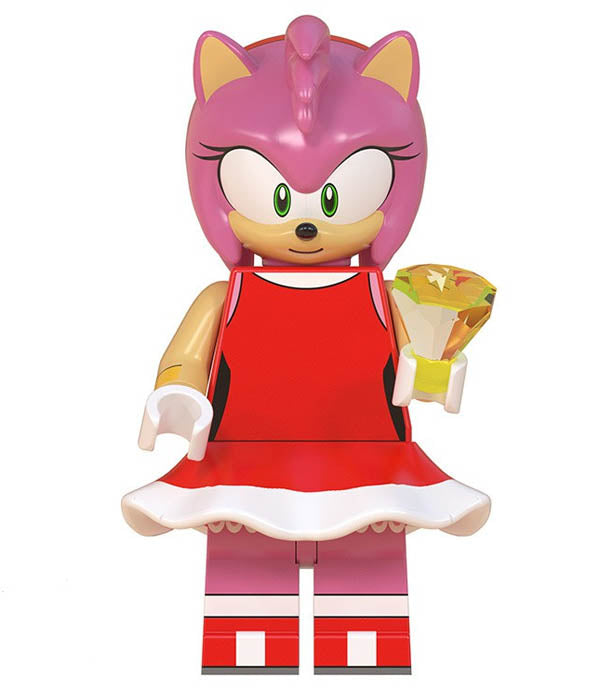 Minifigure Sonic The Hedgehog Amy Rose Funky Toys