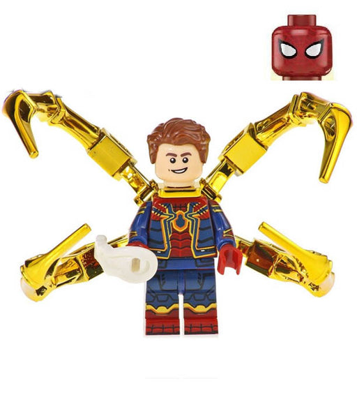 Minifigure - Marvel Avengers - Iron Spider-Man Chrome - funky-toys-company