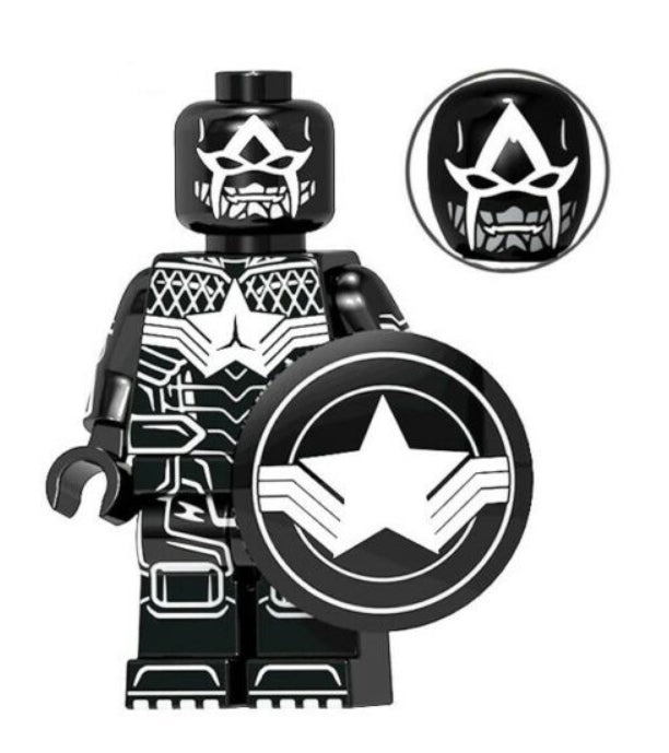 Minifigure - Marvel - Spider America - funky-toys-company