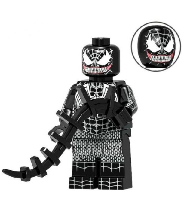 Minifigure - Marvel - Spider-Man Black - funky-toys-company