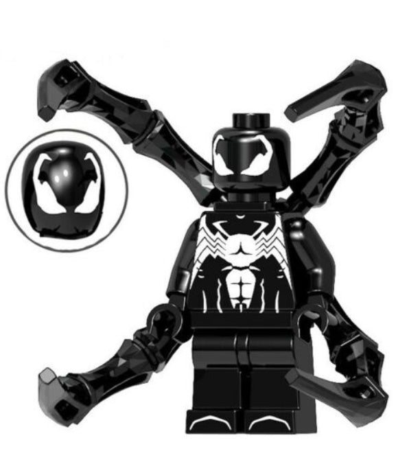 Minifigure - Marvel - Iron Spider-Man Black - funky-toys-company