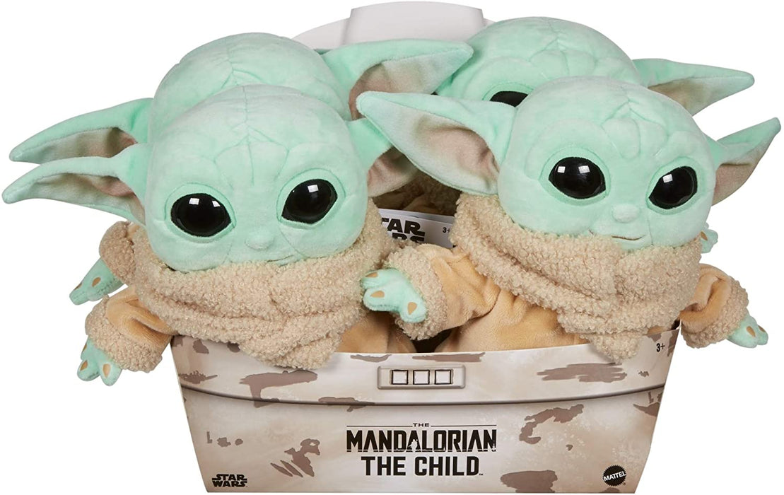 Star Wars The Mandalorian The Child Baby Yoda 8-Inch Plush