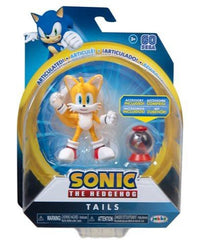 Sonic the Hedgehog 4 inch Action Figure - Tails with Globe - Funky Toys