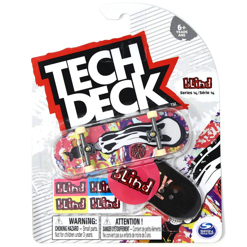 Tech Deck Series 14 -  Psychadelic Reaper Kevin Romar - Funky Toys