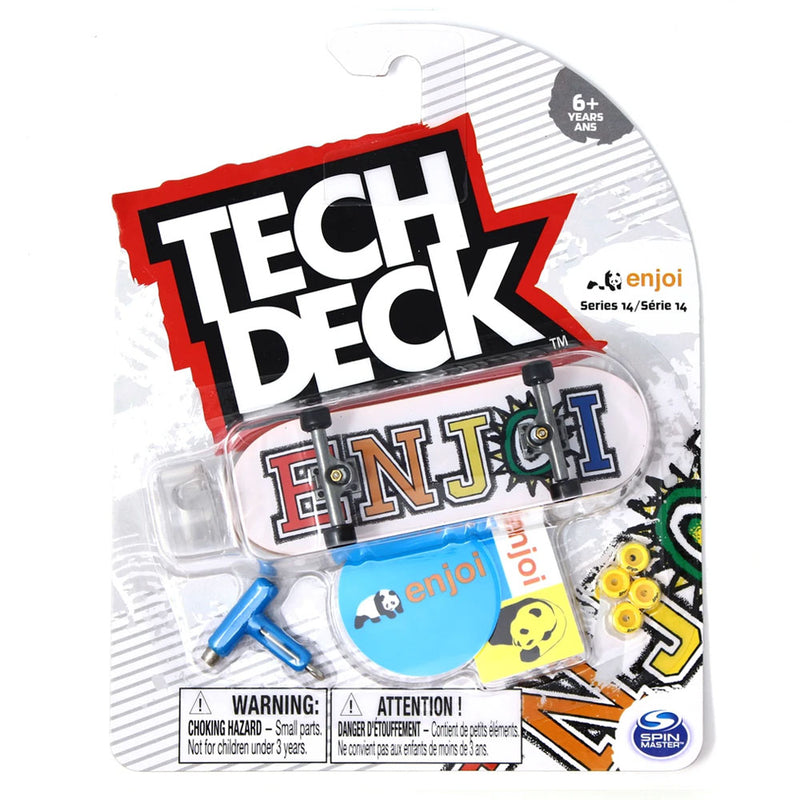 Tech Deck Series 14 - Enjoi What's The Deal - Funky Toys