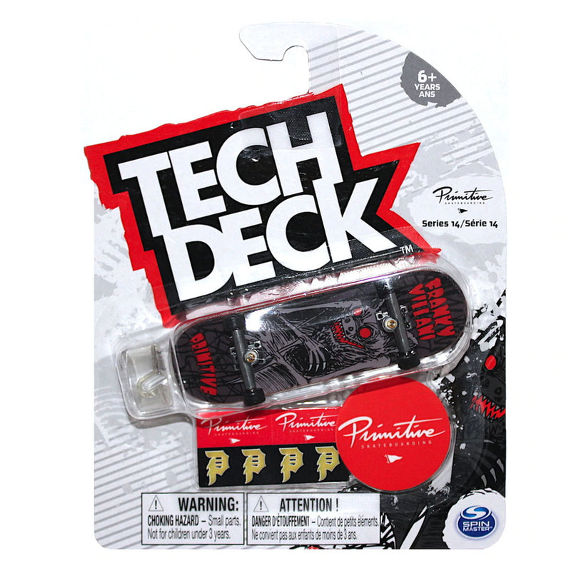 Tech Deck Series 14 - Primitive Franky Villani - Funky Toys