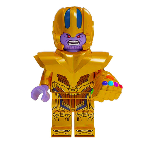 Minifigure - Marvel Avengers - Thanos with Glove & Stones