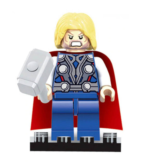 Minifigure - Marvel - Thor with Hammer - funky-toys-company