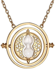 Harry Potter Time Turner Hermione Granger Rotating Necklace - Funky Toys