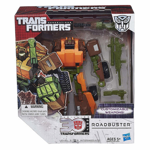 Transformers Generations 30th Anniversary Voyager Class - Roadbuster - funky-toys-company