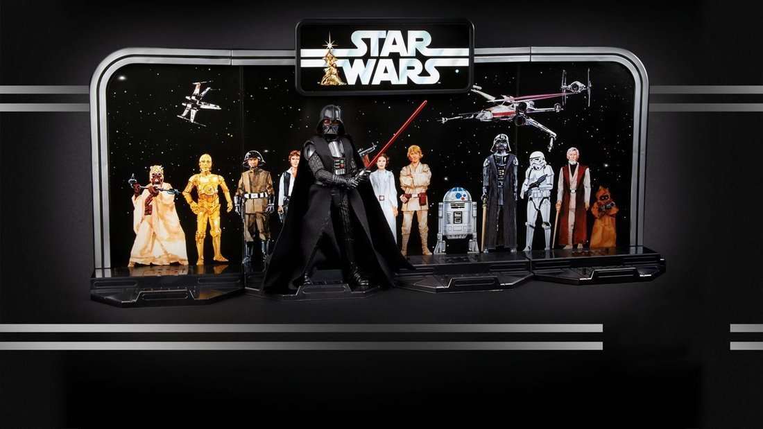 Star Wars The Black Series 40th Anniversary 6 Inch - Darth Vader Legacy Pack - funky-toys-company