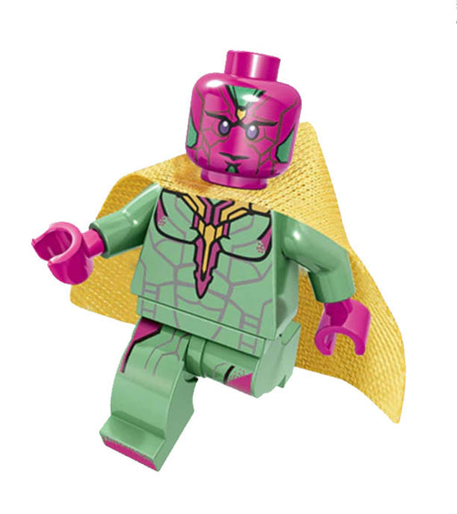 Minifigure - Marvel Avengers - Vision - funky-toys-company