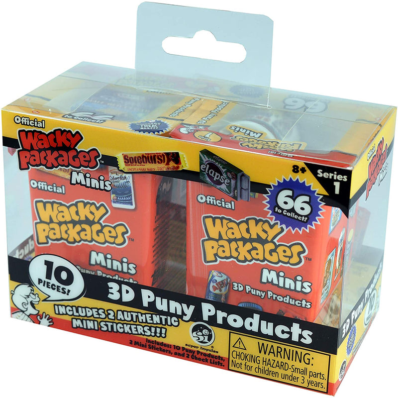 Wacky Packages Minis Blind Box Series 1 Twin Pack - Funky Toys
