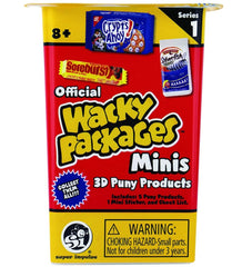 Wacky Packages Minis Blind Box Series 1 - Funky Toys