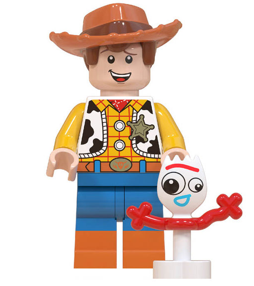 Minifigure - Toy Story - Woody & Forky - funky-toys-company