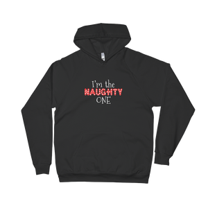 I'm The Naughty One - Unisex Fleece Hoodie