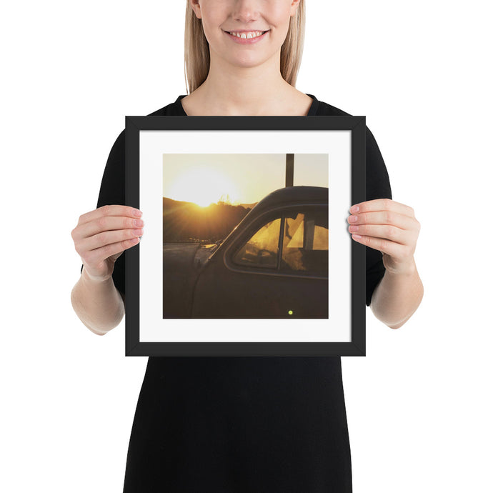 Old Sunset - T-Bone's Prints - Framed photo paper poster