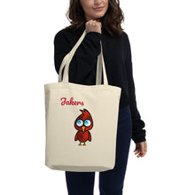 "Load image into Gallery viewer, Jakers Tote Bag - ""2 Birds 1 Stoned"" - Eco Tote Bag"