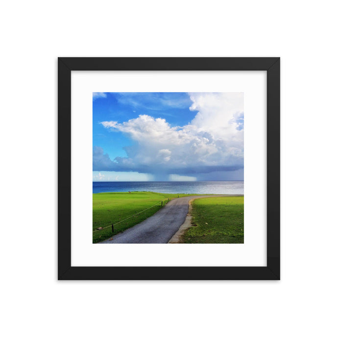Storm over the ocean - T-Bone's Prints - Framed photo paper poster