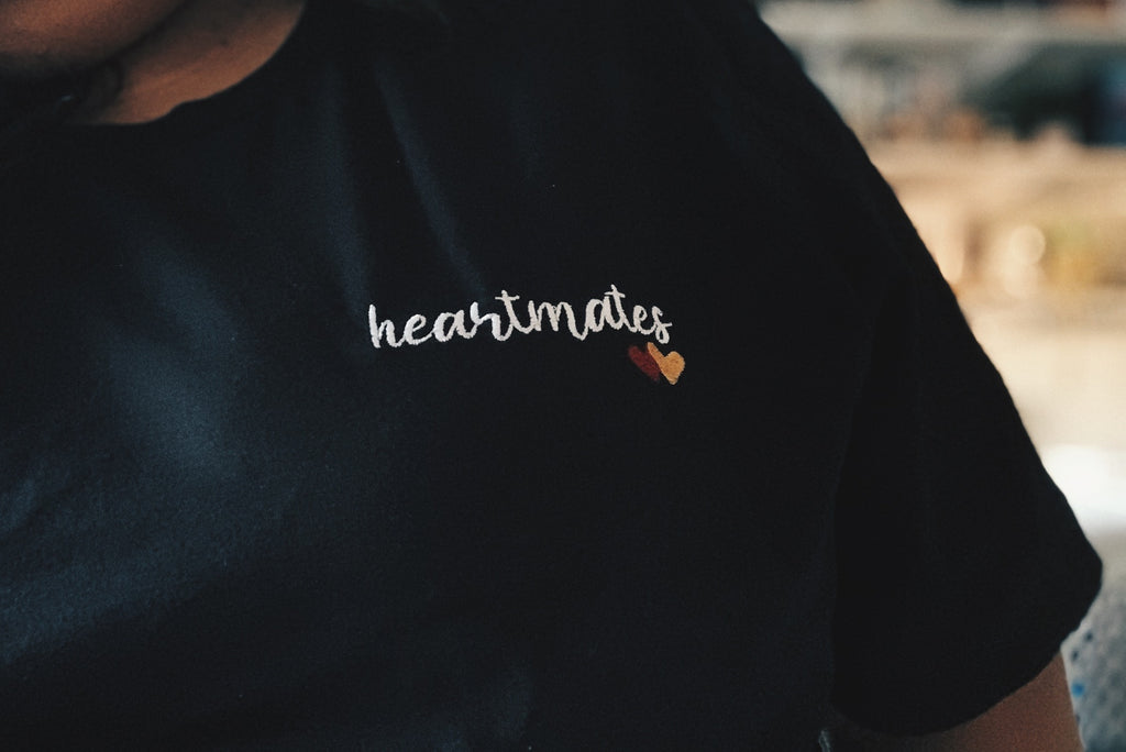 heartmates embroidered tee